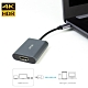 iStyle Pengo USB-C 對HDMI (HDR) 影音轉接器-鈦空灰 /Type C影像轉接 ‧ 4K/60fps HDR超清畫質 ‧ 防電磁鋁殼/ 質感銀 product thumbnail 1