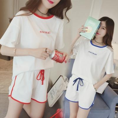 【韓國K.W】(預購)韓時尚厚底修飾套裝褲(共2色)