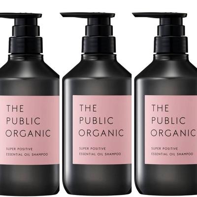 The Public Organic洗髮精–強韌亮澤/滋潤蓬鬆/柔順輕盈 三入組