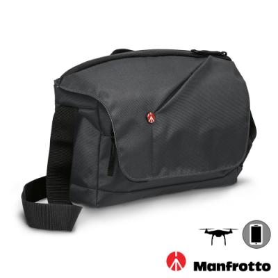 MANFROTTO 曼富圖 NX Messenger CSC 開拓者微單眼側背相機包 (公司貨) 空拍機包 郵差包 MB NX-M-GY / NX-M-BU