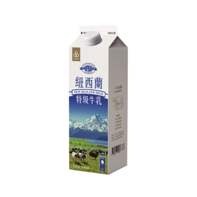 【12罐組】紐西蘭特級牛乳936ml(冷藏配送)