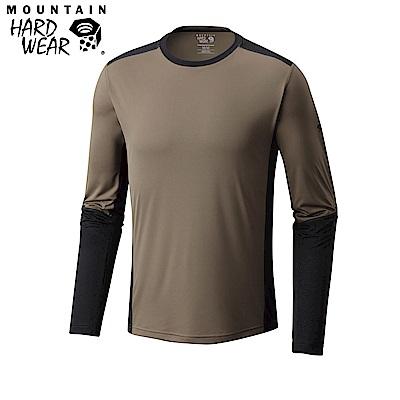 Mountain Hardwear 男款-快排長袖上衣-棕色 MOM00820BN