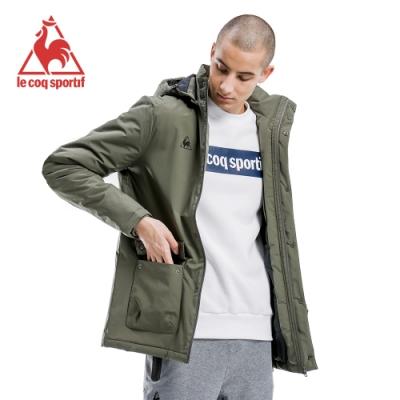 法國公雞牌鋪棉外套 LWI6190248-男-軍綠