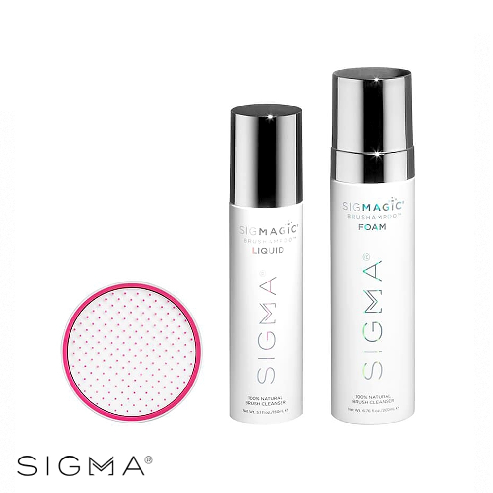 Sigma 刷具清潔三重奏