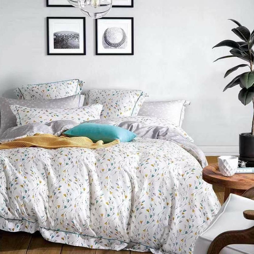 LAMINA 昕薇 加大100%天絲四件式兩用被套床包組