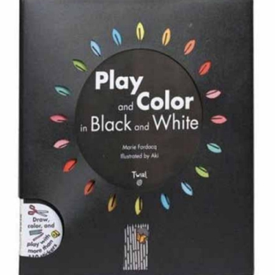 Play And Color In Black And White 黑與白創意著色活動書