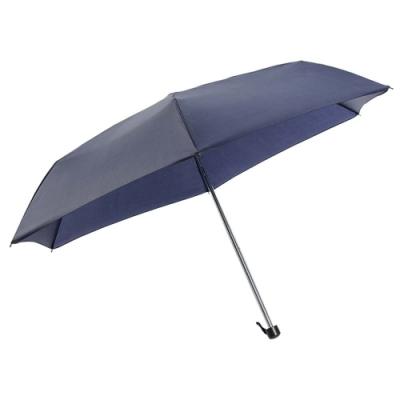 樂嫚妮 防水輕量三折傘-藍