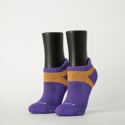 Footer除臭襪-輕壓力足弓船短襪-六雙入(藍*2+粉紅*2+紫*2)