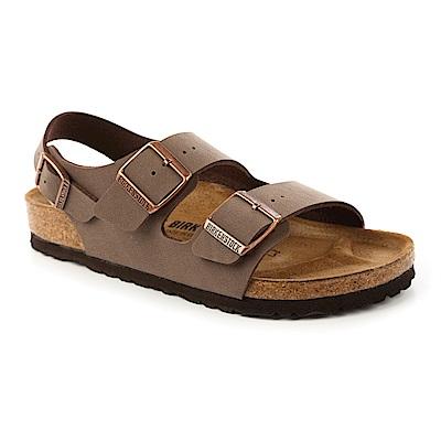勃肯BIRKENSTOCK 634501 MILANO米蘭繫踝二條拖鞋(摩卡)