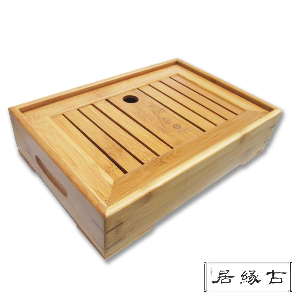 古緣居 孟宗竹制茶盤(寬厚)