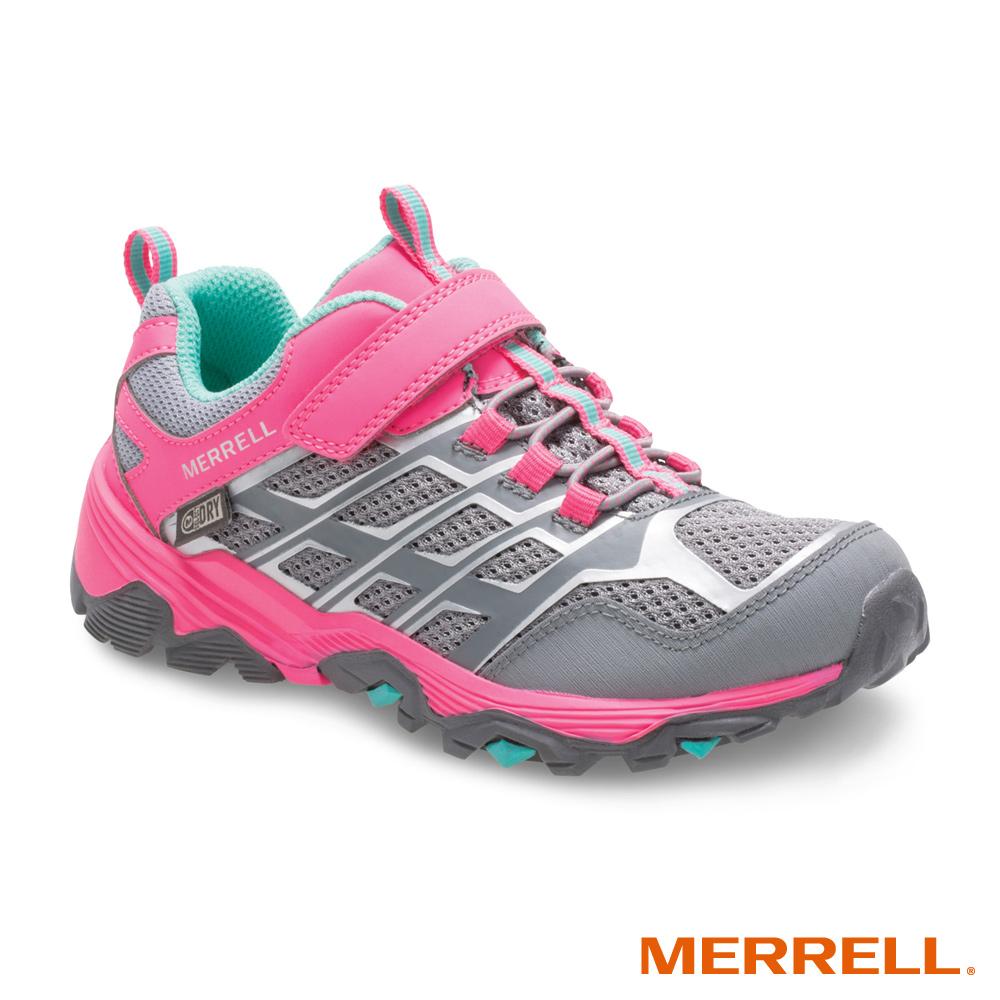 MERRELL MOAB FST WP 登山防水童鞋-粉(159195)