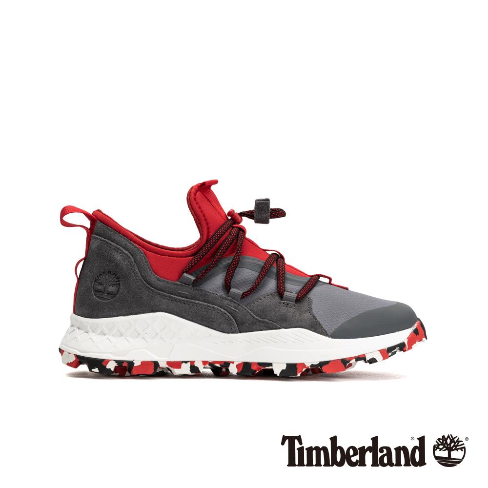 Timberland 男款中灰色布魯克林牛津運動鞋|A1Z2Z