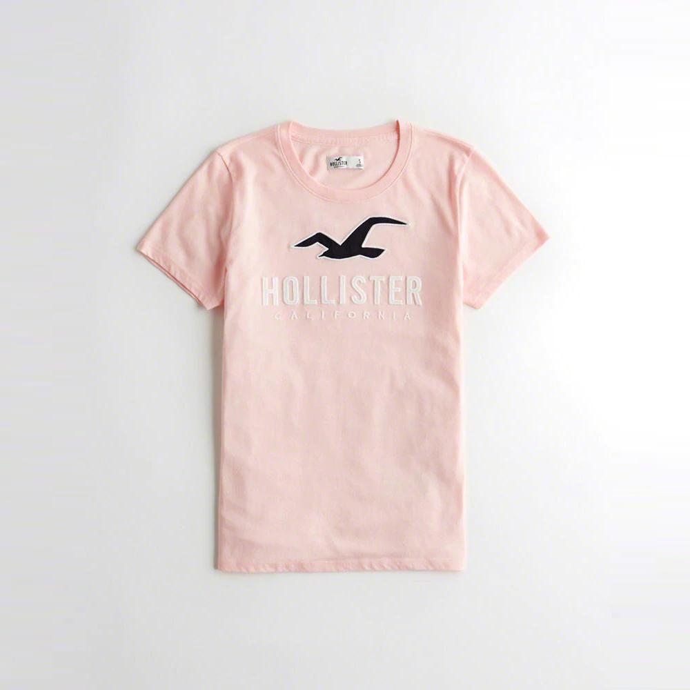 Hollister HCO  短袖 T恤 黃 1077