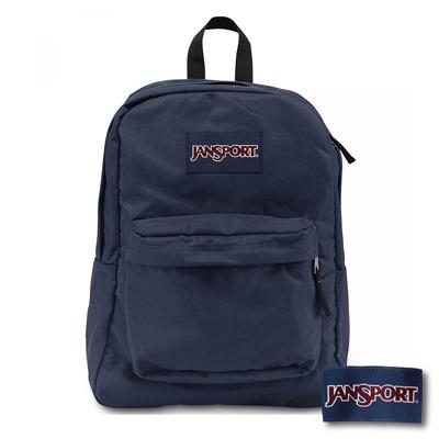 JanSport - SUPERBREAK系列後背包 -深藍