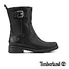 Timberland女款黑色全粒面皮革Mont 靴 A1SBS