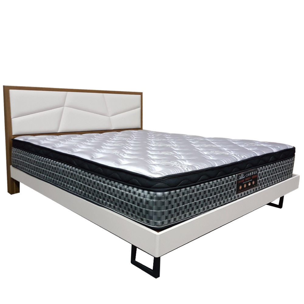 Albert 艾柏 抗菌防蹣3.5尺天絲單人彈簧床墊-105x188x26.7cm免組