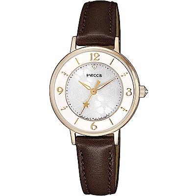 WICCA 星願系列 聖誕節限定腕錶(KP3-422-10)