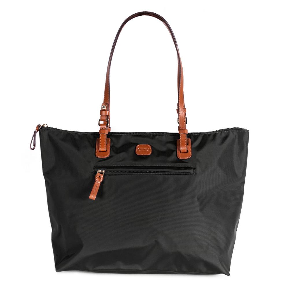 BRICS 義大利 女仕包兼旅行袋 黑色  大