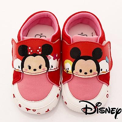 迪士尼童鞋 TSUMTSUM休閒款-FO18347紅(寶寶段)