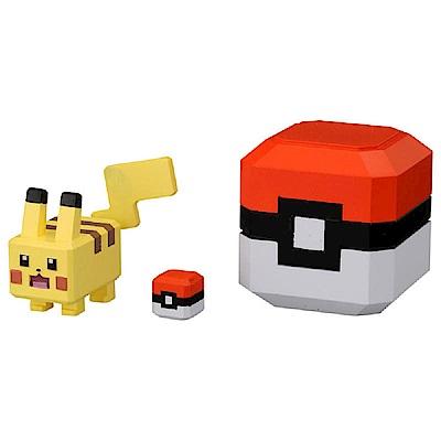 任選Pokemon GO神奇寶貝 PQB-01 皮卡丘探險寶貝球 PC12117