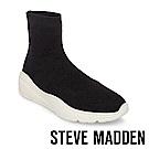 STEVE MADDEN-BITTEN 輕量大底針織套靴-黑色