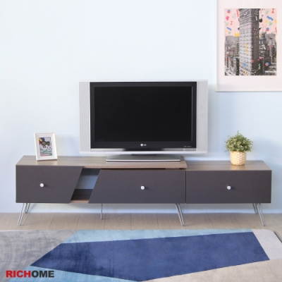 【RICHOME】漢諾威六呎可延伸電視櫃180x41x44