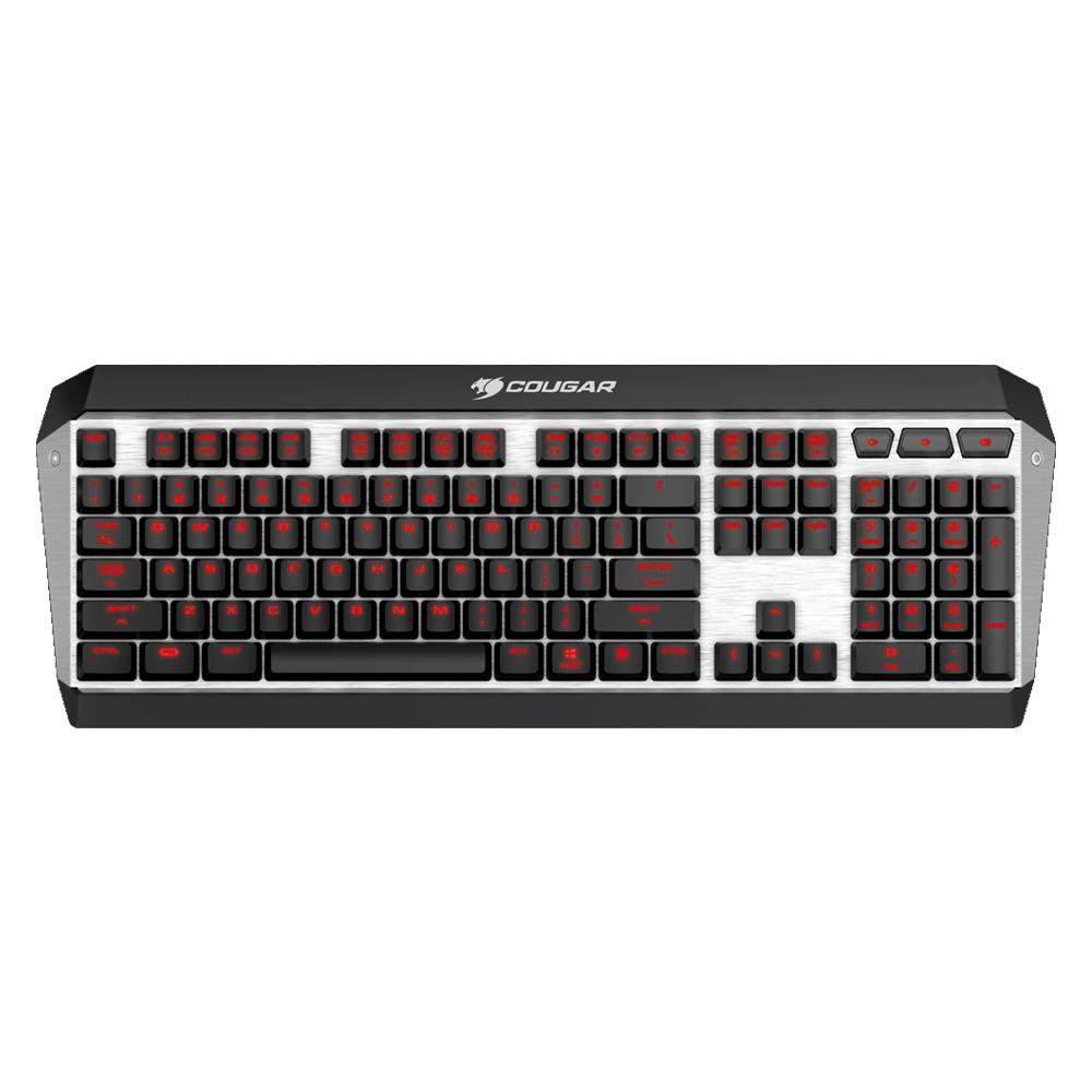 Cougar 美洲獅 ATTACK X3 青軸 紅光 機械式鍵盤《中文版》