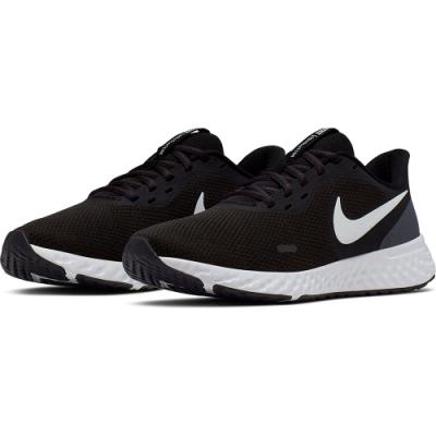 NIKE 慢跑鞋 女鞋 運動 輕量 透氣 舒適 健身 黑 BQ3207002  WMNS NIKE REVOLUTION 5
