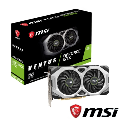 MSI 微星 GeForce GTX1660 SUPER VENTUS OC 顯示卡