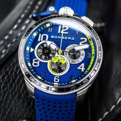 BOMBERG 炸彈錶 Bolt-68 奔騰賽車運動計時手錶(BS45CHSP.059-9.10)