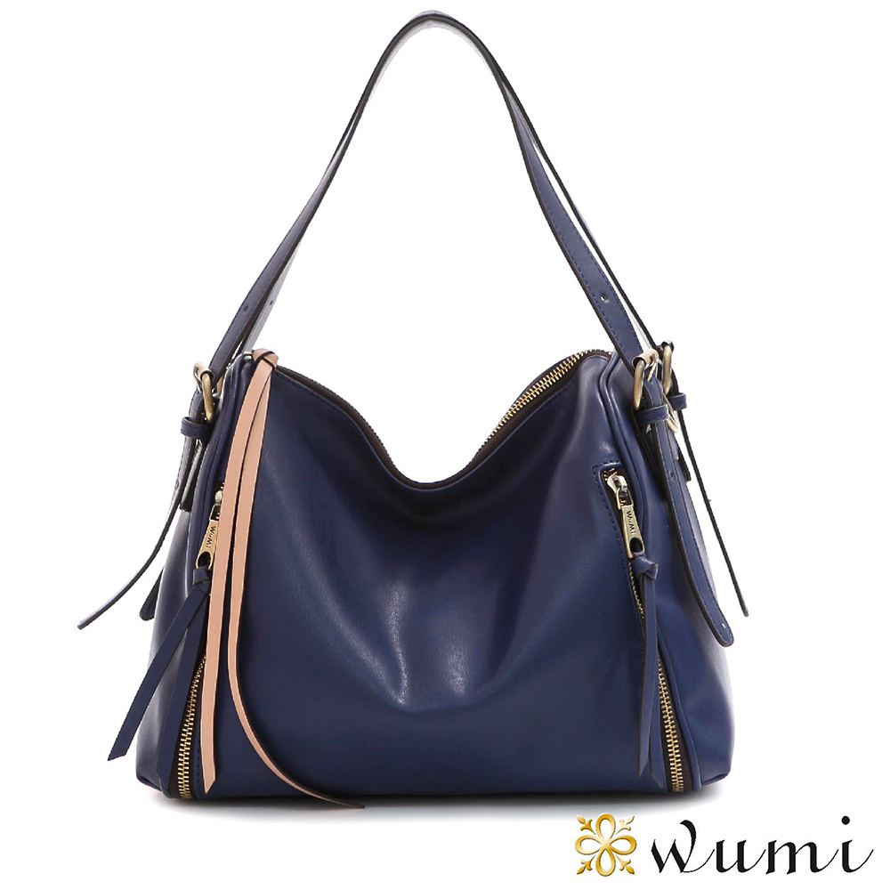 WuMi 無米 夏綠蒂率性流蘇包 紫羅藍