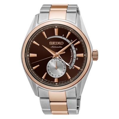 SEIKO 精工PRESAGE動力儲存機械腕錶-42mm(SSA308J1)