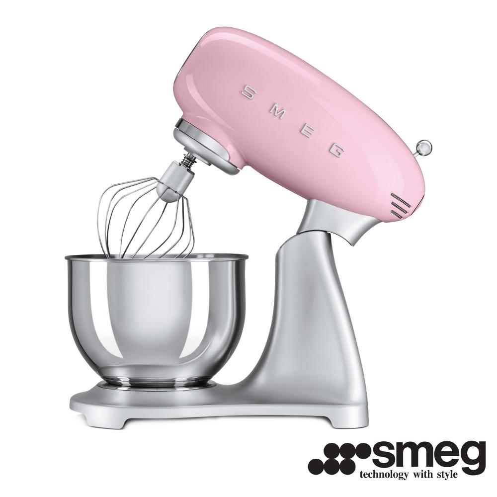 義大利 SMEG  抬頭式攪拌機  - 粉紅色 SMF01PKTW