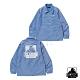 XLARGE OG PRINTED COACHES JACKET教練外套-藍 product thumbnail 1