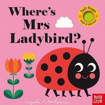 Where s Mrs Ladybird? 瓢蟲在哪裡?不織布翻翻書