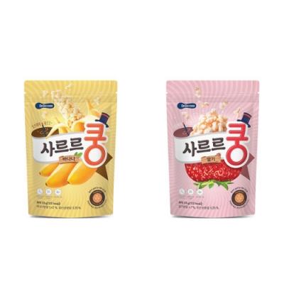 韓國 【BEBECOOK】 幼兒益生菌泡芙2入組(香蕉、草莓)