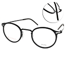 VYCOZ眼鏡 DURRA系列 薄鋼小貓眼款 /黑 #DR9003 BLK-B