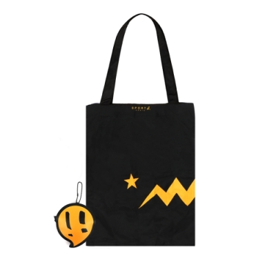 agnes b. Sport b. 摺疊購物袋(2色)