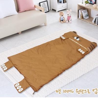 韓國熱銷 卡通動物睡袋 老虎