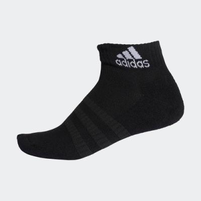 ADIDAS 訓練 運動 腳踝襪 3雙入 黑 DZ9368 CUSHIONED ANKLE SOCKS