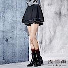 【麥雪爾】甜美氣質水鑽蛋糕褲裙