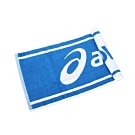 ASICS 運動毛巾 藍白
