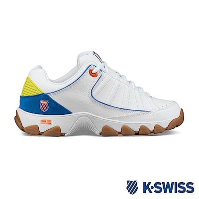 K-SWISS ST529 LE 老爹鞋-男-白/藍/橘