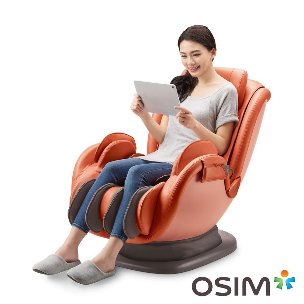 OSIM 音樂花瓣椅 OS-896 橘色 按摩椅/按摩沙發/肩頸按摩