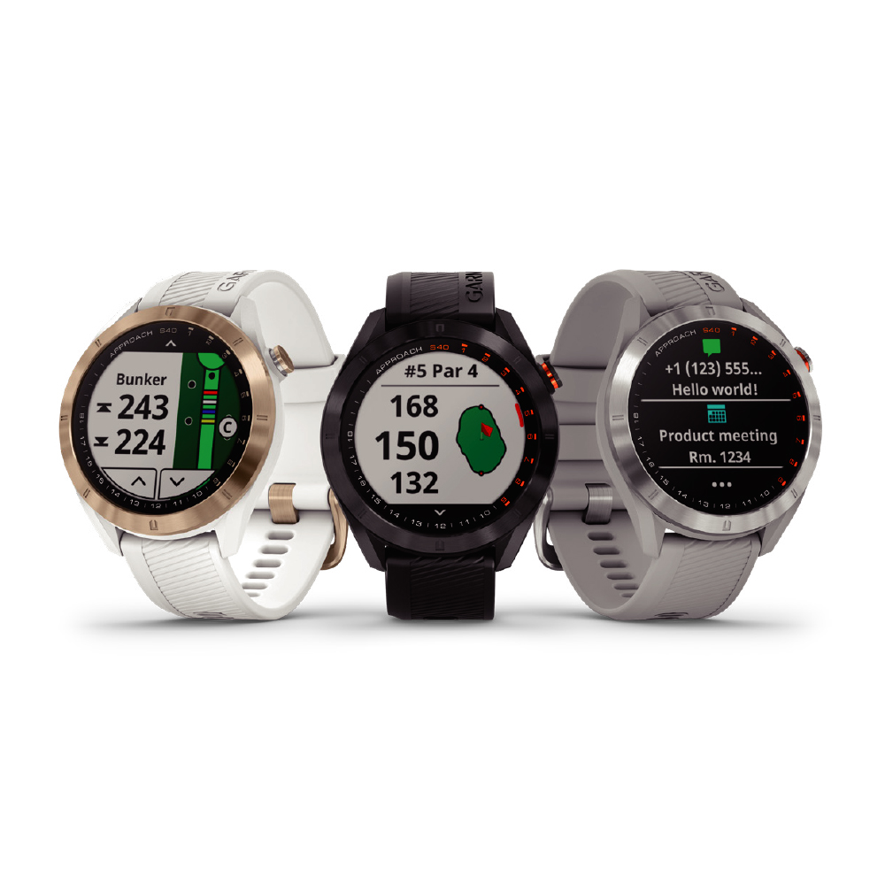 GARMIN Approach S40 GPS高爾夫腕錶