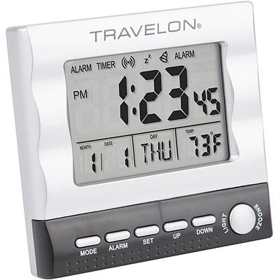《TRAVELON》多功能LED鬧時鐘