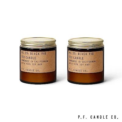 美國 P.F. Candles CO. No.28 無花果二入組 香氛蠟燭 99g*2