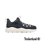 Timberland 男款NNH深灰色全粒面革網格拼接球鞋|A1V7R