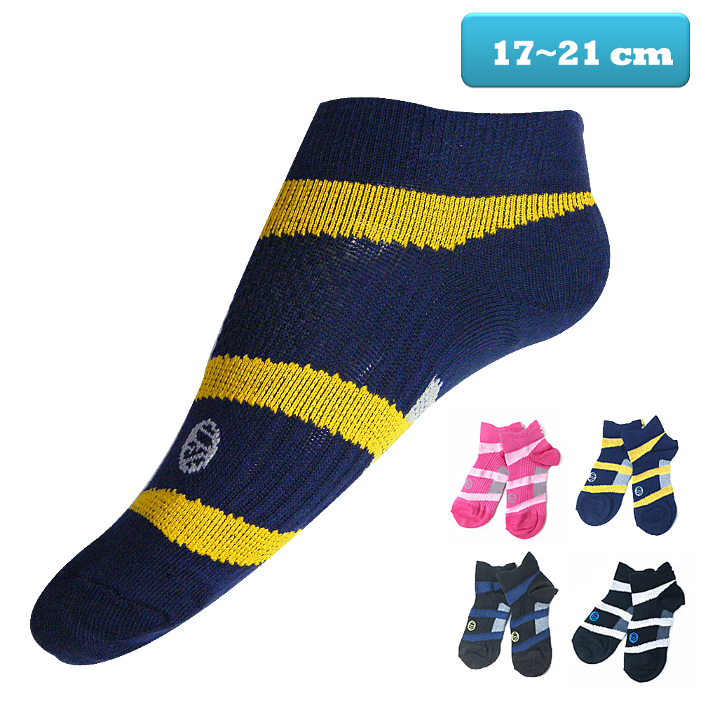 本之豐 兒童萊卡繃帶抗菌消臭運動襪/短襪-12雙 @ Y!購物