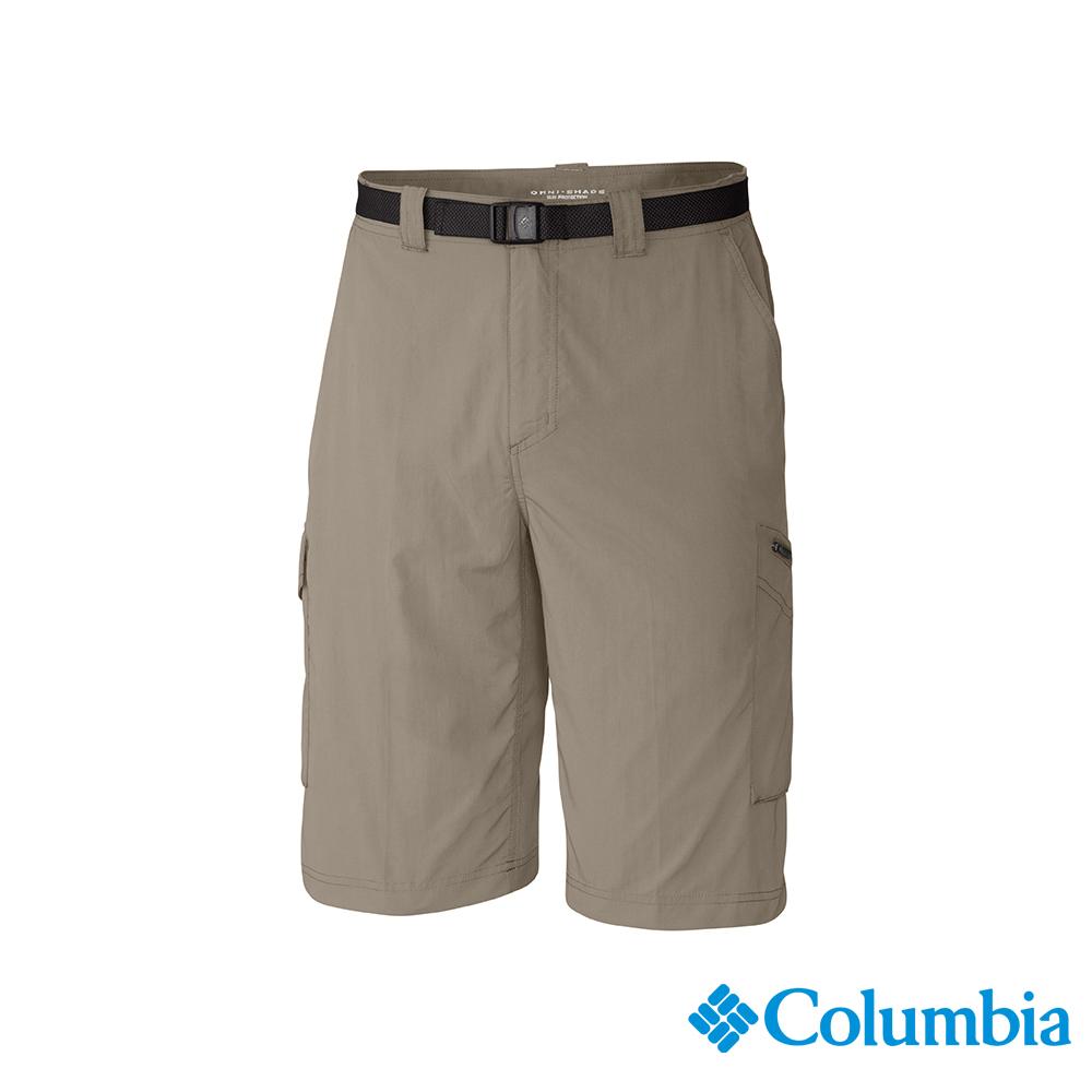 Columbia 哥倫比亞 男款-UPF50快排短褲-棕褐 UAM40840TN